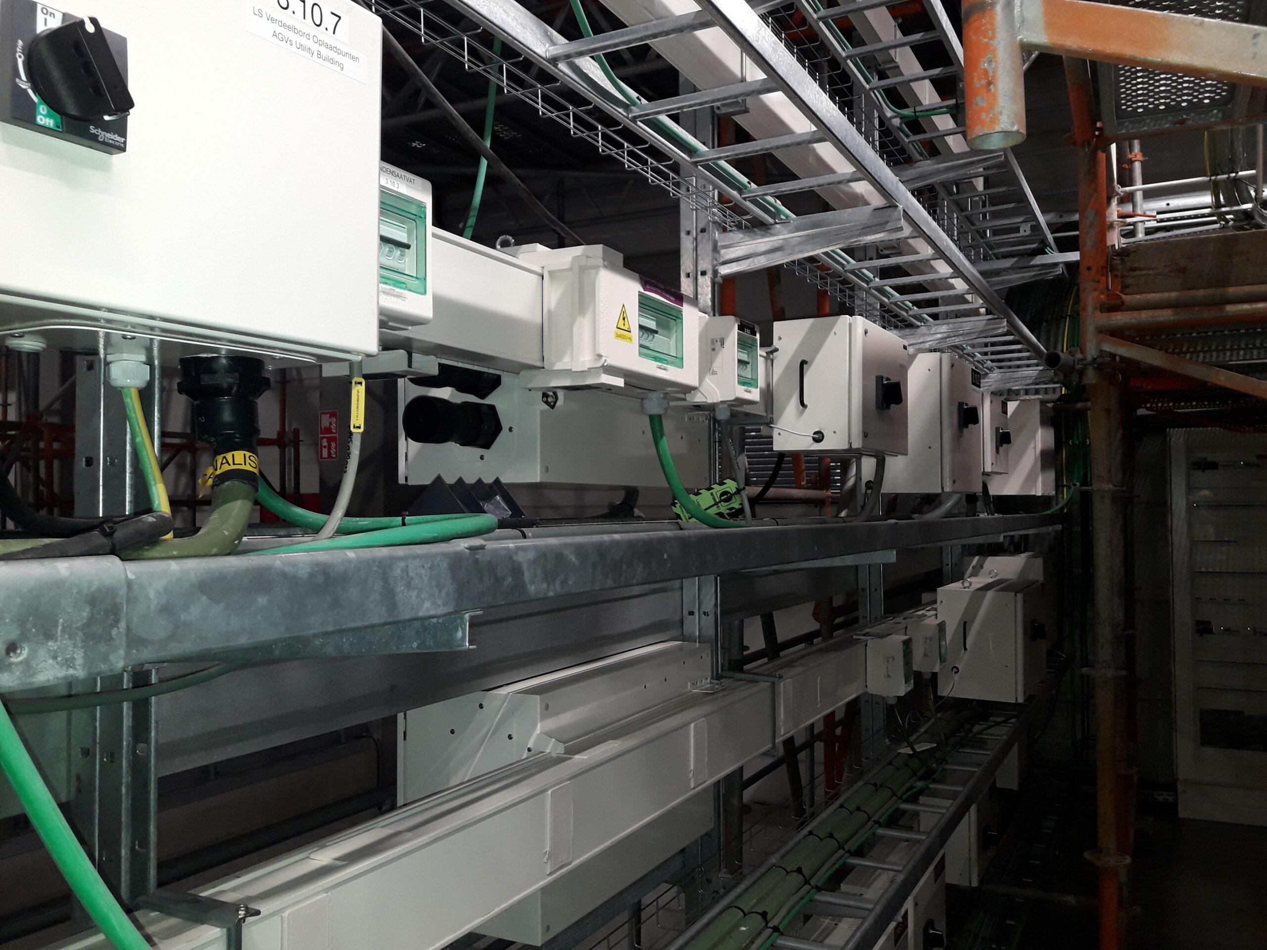 Industriële & tertiaire installatie